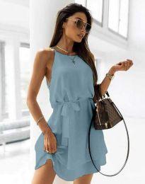 Šaty - kód 9968 - svetlo modrá