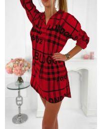 Šaty - kód 5456 - červená