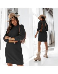 Šaty - kód 129 - čierná