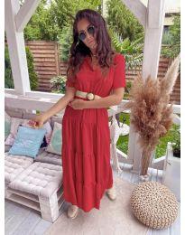 Šaty - kód 641 - červená