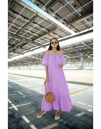 Šaty - kód 3636 - fialová