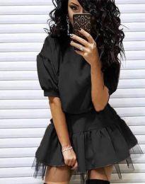 Šaty - kód 2856 - čierná