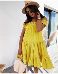 Šaty - kód 805 - žltá