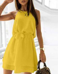 Šaty - kód 9968 - žltá