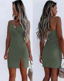 Šaty - kód 8979 - olivovo zelená