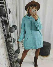 Šaty - kód 2933 - mentolová