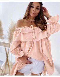 Šaty - kód 9865 - ružová