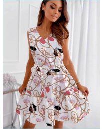 Šaty - kód 325 - biela