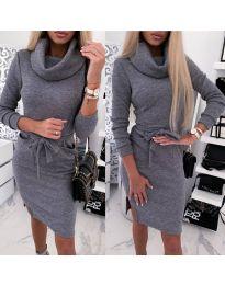 Šaty - kód 219 - tmavě šedá