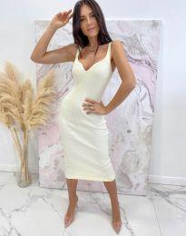 Šaty - kód 10033 - biela