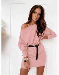 Šaty - kód 4442 - ružová