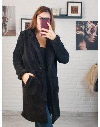Kabát - kód 5144 - 3 - čierná