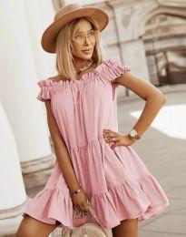 Šaty - kód 6969 - ružová