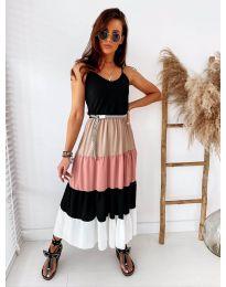 Šaty - kód 697 - 4 - čierná