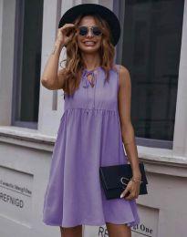 Šaty - kód 0286 - fialová
