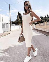 Šaty - kód 5964 - biela