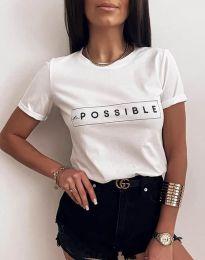 Tričko - kód 2272 - biela