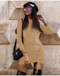 Šaty - kód 9545 - bežová