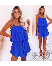 Šaty - kód 721 - modrá