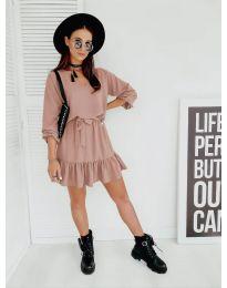 Šaty - kód 4146 - ružová