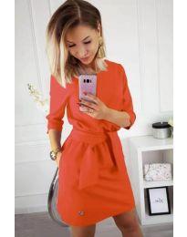 Šaty - kód 594 - оranžová