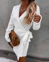 Šaty - kód 9846 - biela