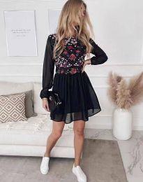 Šaty - kód 3482 - čierná