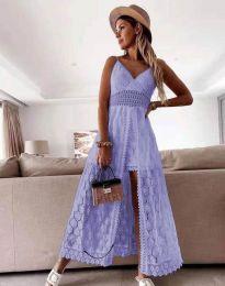 Šaty - kód 2704 - svetlo fialová