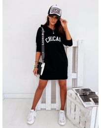 Šaty - kód 802 - čierná