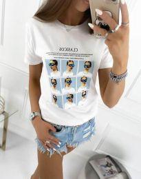 Tričko - kód 4341 - biela