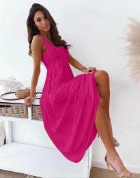 Šaty - kód 4807 - cyclamenová