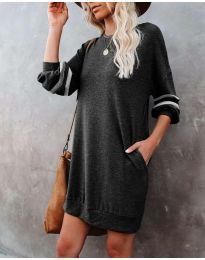 Šaty - kód 5925 - čierná
