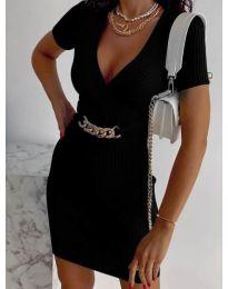 Šaty - kód 4305 - čierná