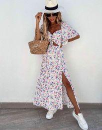 Šaty - kód 6798 - biela
