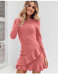 Šaty - kód 2909 - pudrová