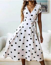 Šaty - kód 4757 - 1 - biela