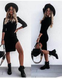 Šaty - kód 884 - čierná