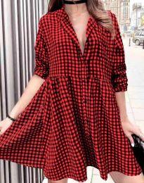 Šaty - kód 2401 - červená