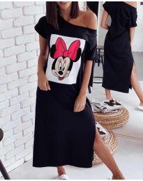 Šaty - kód 6656 - čierná