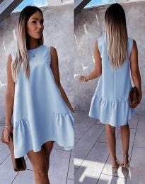 Šaty - kód 3456 - svetlo modrá