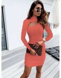 Šaty - kód 883 - coral