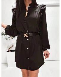 Šaty - kód 3433 - čierná