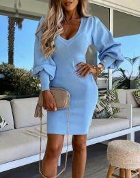 Šaty - kód 2917 - svetlo modrá