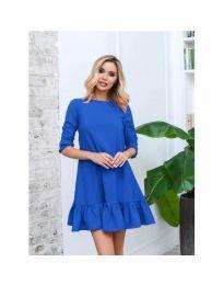 Šaty - kód 412 - modrá