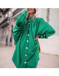 Šaty - kód 0899 - zelená