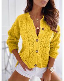 Kardigan - kód 6533 - žltá