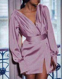 Šaty - kód 5324 - svetlo ružová