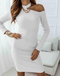 Šaty - kód 0984 - 1 - biela