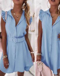 Šaty - kód 7411 - svetlo modrá