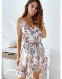 Šaty - kód 3677 - biela